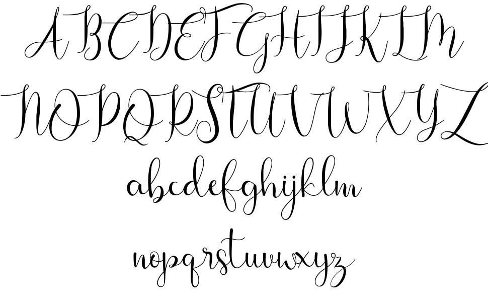 Viona шрифт