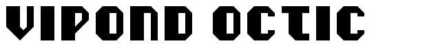 Vipond Octic font