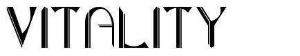 Vitality font