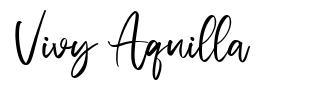 Vivy Aquilla
