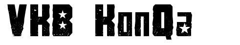 VKB KonQa font
