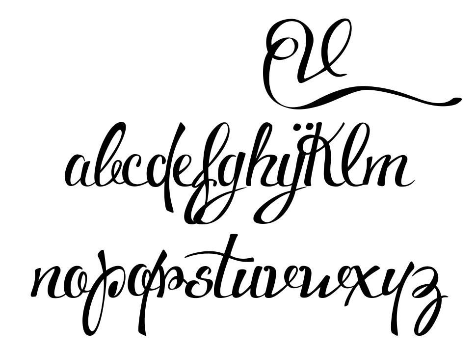 Voluptate font