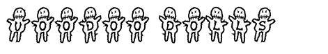 Voodoo Dolls font