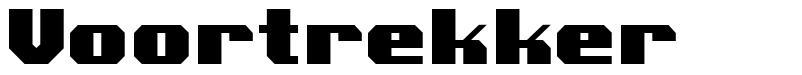 Voortrekker  font