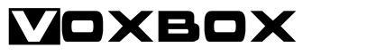 Voxbox font