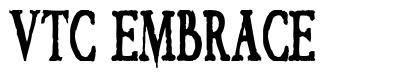 VTC Embrace font