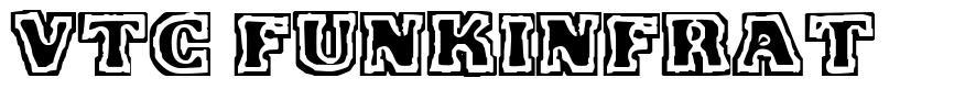 VTC FunkinFrat schriftart