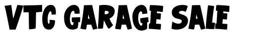 VTC Garage Sale font