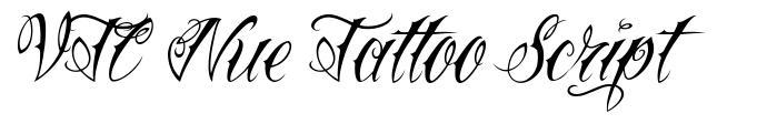 VTC Nue Tattoo Script font