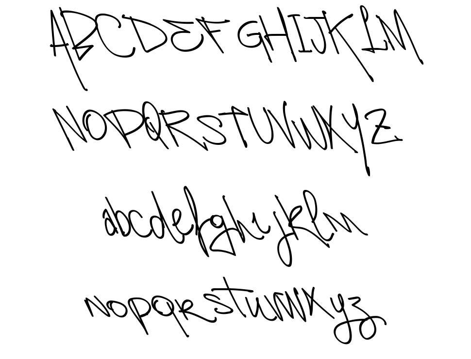 VTKS Autorized font