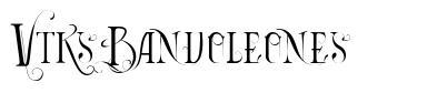 Vtks Bandoleones font