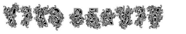 VTKS Beauty font