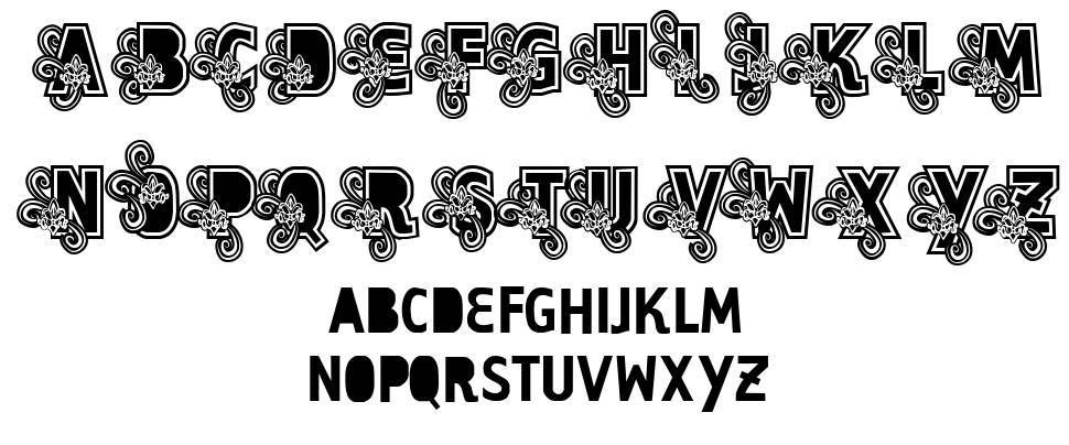 Vtks Caps Loco font