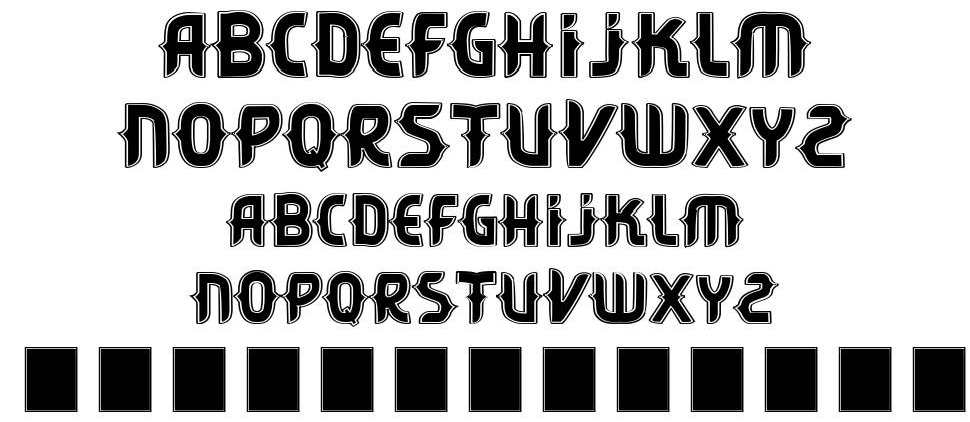 Vtks Citrino шрифт