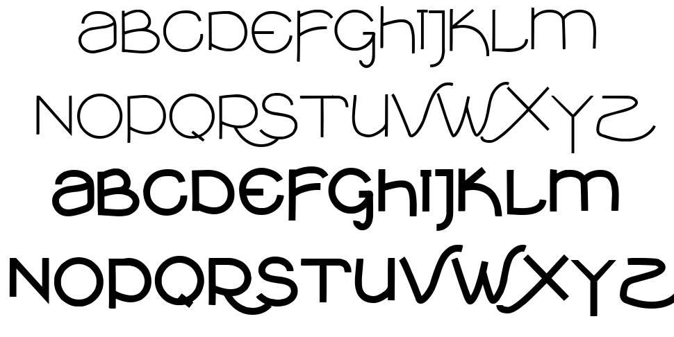 VTKS Clean шрифт