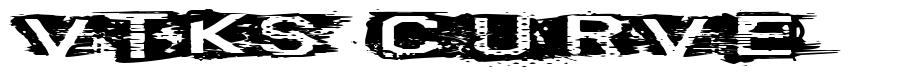 VTKS Curve font