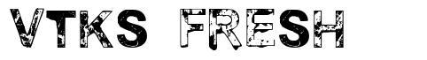 Vtks Fresh font