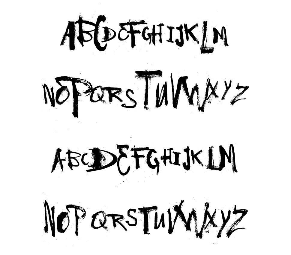 Vtks Have a Nice Day font