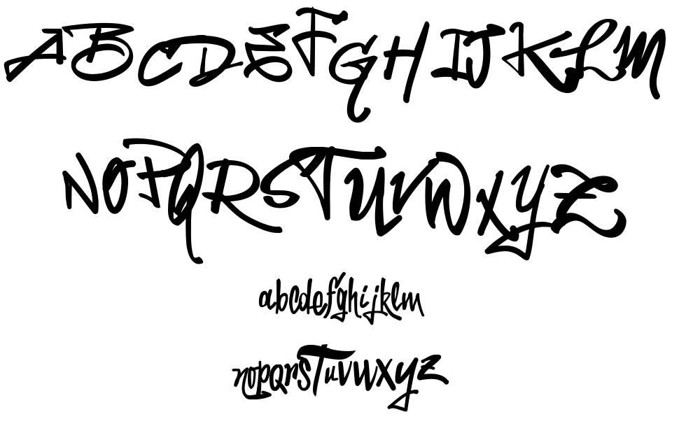 Vtks LaPrensitcha font