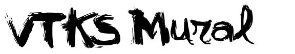 VTKS Mural 字形