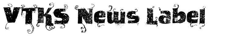 VTKS News Label
