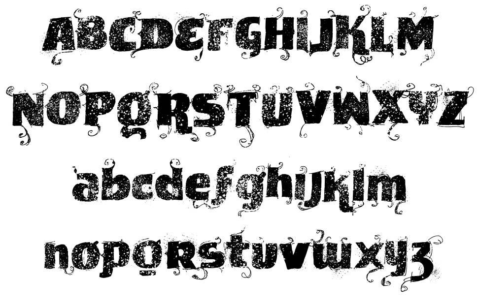 VTKS News Label font