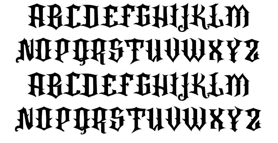 VTKS Rafia font