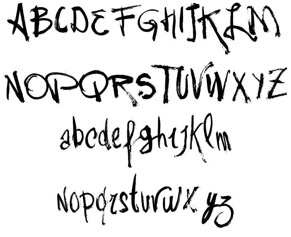 Vtks Rash font