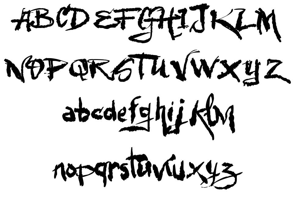 VTKS Urbanizart шрифт