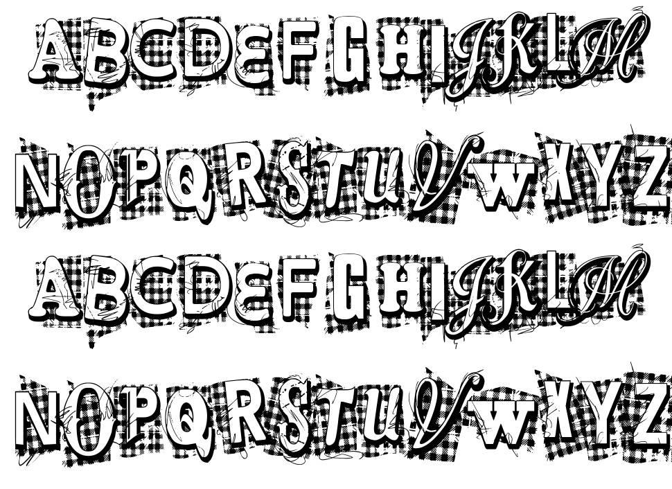 VTKS Xtra шрифт