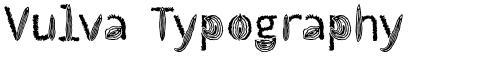 Vulva Typography