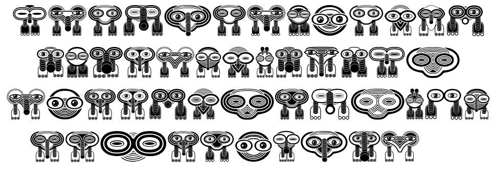 Wakazi font