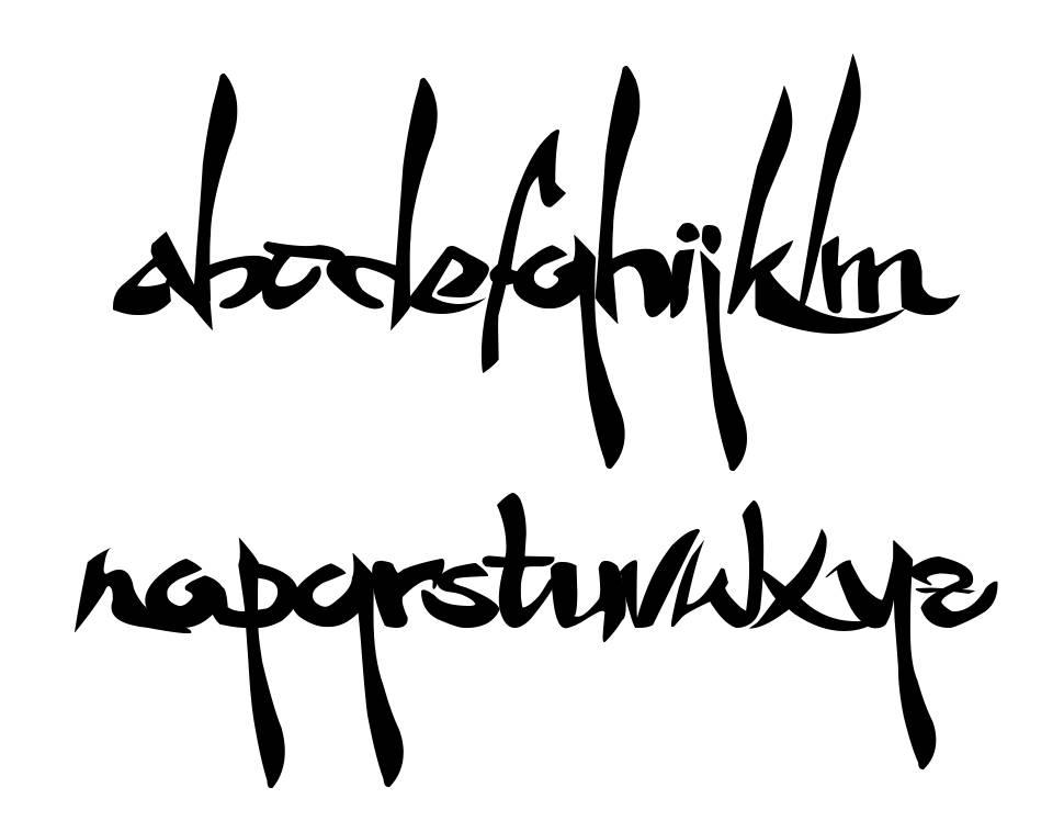 Wakfu Fan font