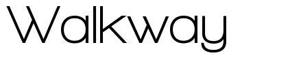 Walkway 字形