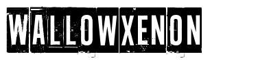 Wallowxenon font