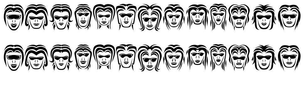 Wanita font