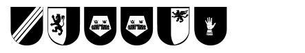 Wappen шрифт