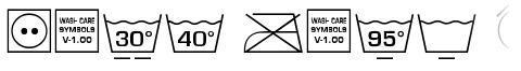 Wash Care Symbols M54