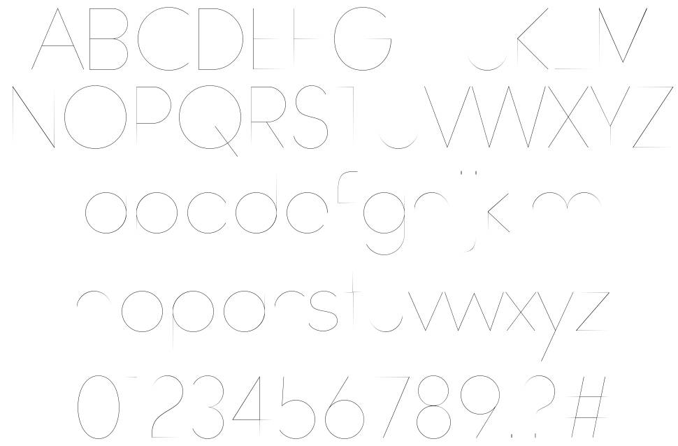 Watchword Hairline font