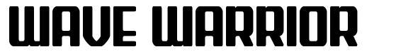 Wave Warrior font