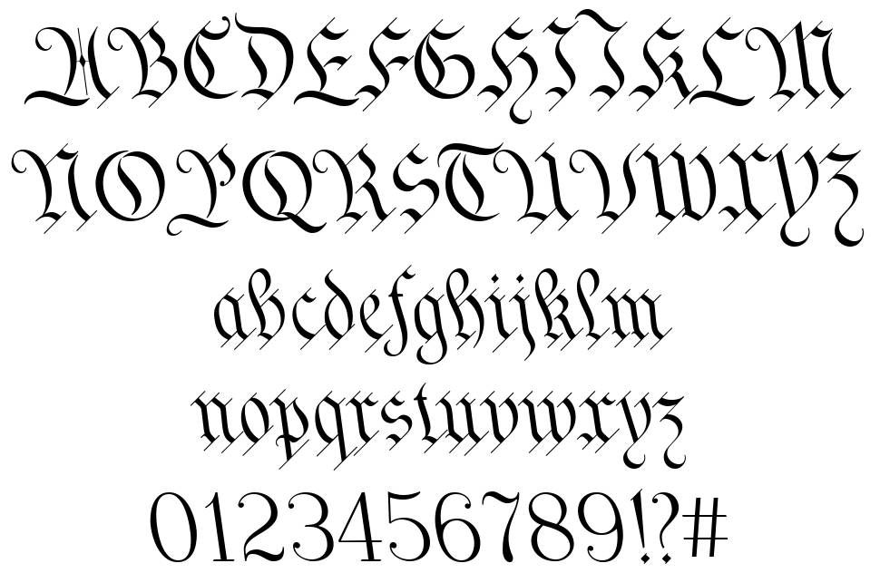 We The People font