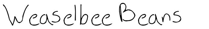 Weaselbee Beans font