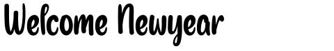 Welcome Newyear