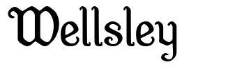 Wellsley font