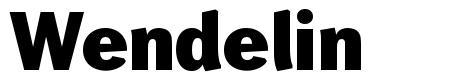Wendelin písmo