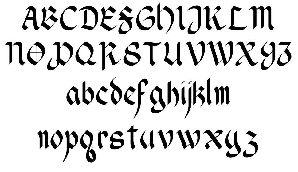 Wendell 字形