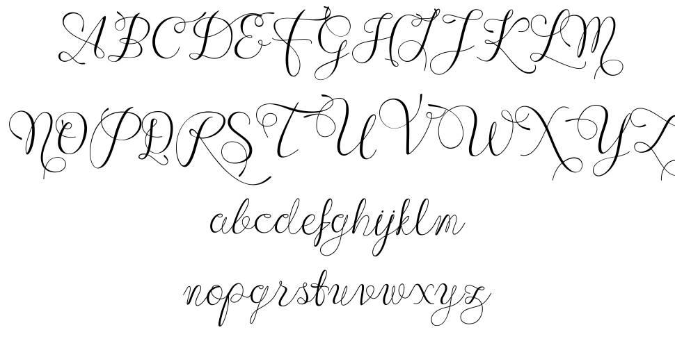 Wenny Script font
