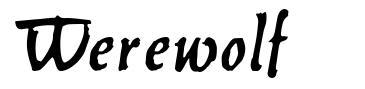 Werewolf font