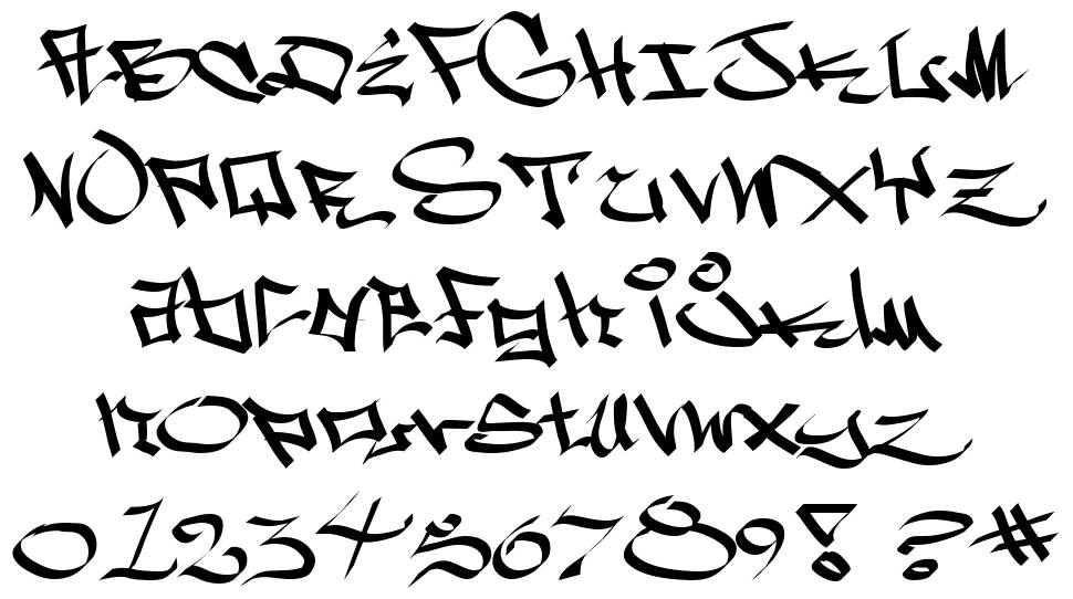 West Side font