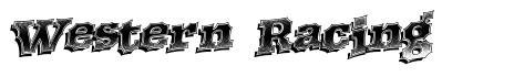 Western Racing font